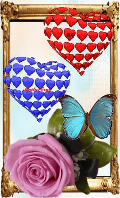 Mothers Day Roses, 3d Girl, Love Images, Beautiful Butterflies, Gifs, Hearts, Butterfly, Flowers, Instagram