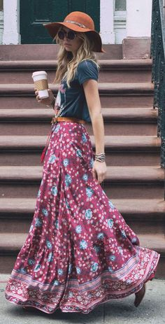 Hippie cool outfits for summer lookbook