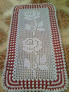 Crochet Cross, Love Crochet, Knit Crochet, Crochet Doilies, Crochet Flowers, Fillet Crochet, Crochet Table Runner, Table Runners, Crochet Projects