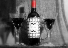 Vampire Love Potion Wine Bottle Sleeve