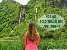 not all solo travelers are loners
