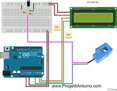 76. Arduino amperometro con sct-013 corrente e potenza - PROGETTI ARDUINO