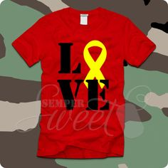 Adult's Red Friday Love Ribbon, $22.00