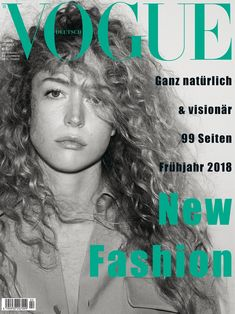 Raquel Zimmermann, Vogue Magazine [Germany] (February 2018)