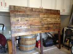 Shabby Shack Crafts: Pallet Headboard