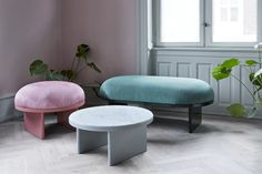 Anza Pouf by Please Wait to be Seated
