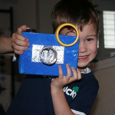 Say Cheese! find out how to make this super cute pretend camera