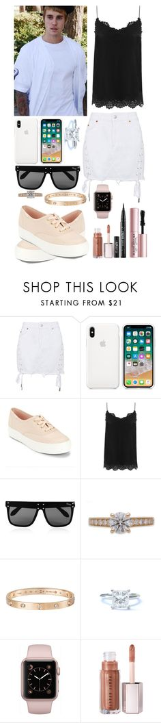 """Sem título #425"" by isabelalalbarelli on Polyvore featuring Topshop, Keds, Zimmermann, Quay, Cartier, Tiffany & Co. e Too Faced Cosmetics"