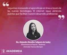 Educación a través de la tecnología. #UFMSoyAkademeia #Tecnología #CursosEnLínea  ¡Visítanos! ➔ http://akademeia.ufm.edu/home/?page_id=6