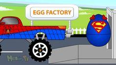 Surprise Eggs For Kids   Spongebob Peppa pig Lightning McQueen Disney Su...