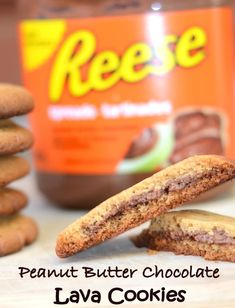 reese peanut butter chocolate cookies