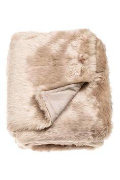 coton tiss fausse fourrure accessoires faux couverture de fourrure faux jet de la fourrure par synthse tissu blanket 349 blanket beige