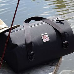 Mad Water: These commercial grade 'Made In The USA' duffels are truly waterproof – submersible to 15 feet!