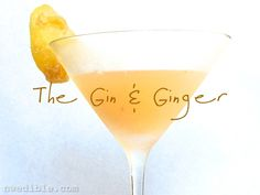 If one were really, truly stretching the definition of healthy, one might consider this cocktail medicinal. Fresh citrus combines with raw muddled ginger root, a bit of botanically infused gin and ...