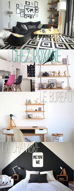 Home sweet home : chez Roxane Diy Home Decor, Room Decor, Home Salon, Style Deco, Inside Design, Scandinavian Interior, Home Staging, Home Living Room, Interior Decorating