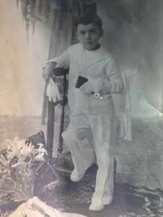MANUEL ZARAMA en su primera comunion