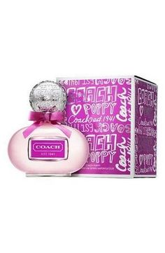 Fresh, floral and a little flirty! Consider this Coach perfume in Poppy Flower. $65 at local Nordstrom stores (to find one: www.nordstrom.com); and at local Coach stores (to find one: www.coach.com).