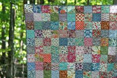 Beautiful Liberty fabric quilt - from Film in the Fridge http://www.filminthefridge.com/2012/09/04/ah-a-liberty-throw/