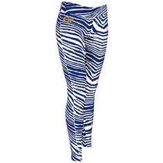 Women's Zubaz Navy Georgia Tech Yellow Jackets Leggings