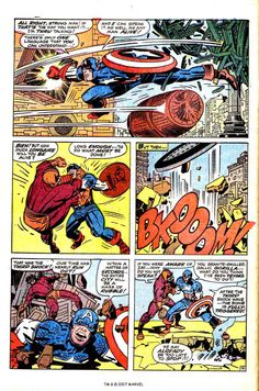 Captain America v1 #105 marvel comic book page art by Jack Kirby