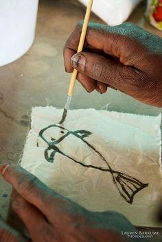 Lunch & Latte: Malian textile designer Aboubakar Fofana