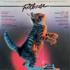"Kitten Covers we can't get enough of. ""Footloose"""