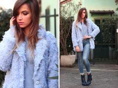 IVANA  J. - Zara Boots - SHAGGY COAT