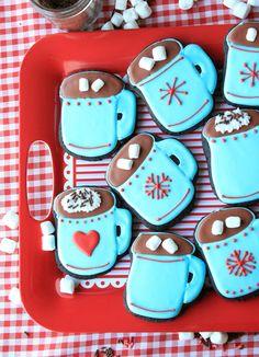 Cup O' Cocoa Cookies :: Munchkin Munchies.