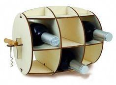 Wine Barrel - Wine Rack