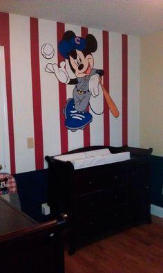 parede do mickey