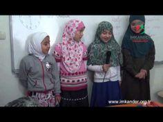 Waisenkinder singen islamische Nasheed. Glaubensbekenntnis, Shahada, 5 Säulen des Islam