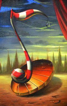 YES!! 12 15 15 Wonderful Surreal Paintings by Evandro Schiavone
