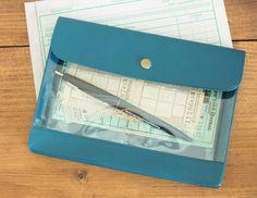 プラスチックブリーフケースS/書類ケースドキュメントケース通帳入れ母子手帳入れカード入れ収納バッグインバッグA6サイズおしゃれカフェpub地下鉄北欧レトロシャビーシンプルアンティークカフェインダストリアル家具PFS工業系オフィス