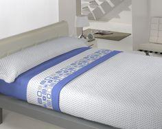 Coralina Dolce modelo Paris en azul de Llar Textil