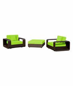 Sofa Set, Furnitures, Green