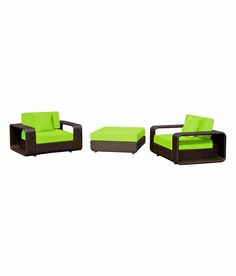 Loved it: Wonderweave Furnitures Pvt Ltd Green Single Seater Sofa Set, http://www.snapdeal.com/product/wonderweave-furnitures-pvt-ltd-green/399053274