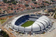 Populous architecture, Populous stadiums, Populous Arena das Dunas, World Cup Arena Brazil, FIFA World Cup, Brazil World Cup, sports archite...