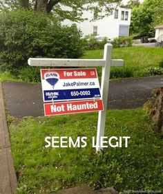 Hilarious Real Estate Signs - Mommy Has A Potty MouthMommy Has A Potty Mouth
