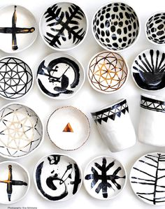 Adorable ceramic creations by Liquorice Moon Studios #ClippedOnIssuu de Winkelen July 2015