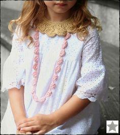 El rincón Moda Blog, Crochet Girls, Girls Accessories, Couture, Baby Kids, Lace, Women, Diy, Fashion