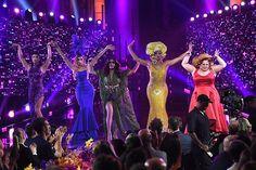 RuPaul's Drag Race All-Stars, Tatiana, Alaska Thunderfvck, Phi Phi O'Hara, Alyssa Edwards and Ginger Minj | Drag Queens