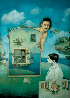 Enrique Guzmán (1952 - 1986) pintor mexicano de corte surrealista.