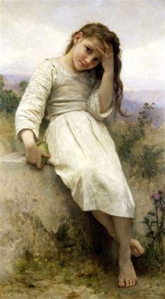 The Little Marauder - Bouguereau William-Adolphe - WikiArt.org - encyclopedia of visual arts