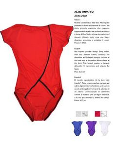 I love RED! Dance Outfits, Dance Wear, Leotards, Short Sleeves, One Piece, Swimwear, Red, Clothes, Style