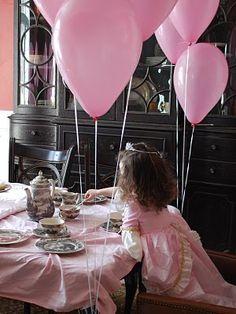 pink birthday decor