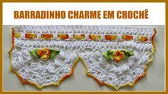 BARRADINHO CHARME EM CROCHÊ