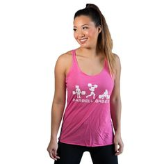 🆕 Barbell Babes Pink CrossFit Workout Tank XS Barbell Babes The Original Babe Tank. 50% Polyester, 25% Cotton and 25% Rayon. Fabric laundered. Extremely soft, comfortable, great recovery and stretch. For a looser fit, choose the size you normally wear. For a tighter fit, choose a size down from what you normally wear. 🚫 No trades. No holds. 📦 Fast shipping! Barbell Babes Tops Tank Tops