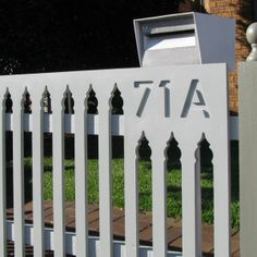 fence design it is an inverse of a traditional picket which ...
