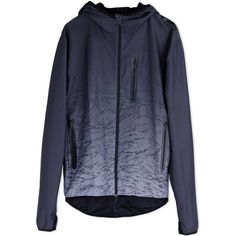 Stampd X Puma Jacket ($185) ❤ liked on Polyvore featuring men's fashion, men's clothing, men's outerwear, men's jackets, steel grey, mens zip up jacket and mens leopard print jacket