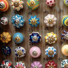 decorative door knobs at a french market - Decorative Door Knobs